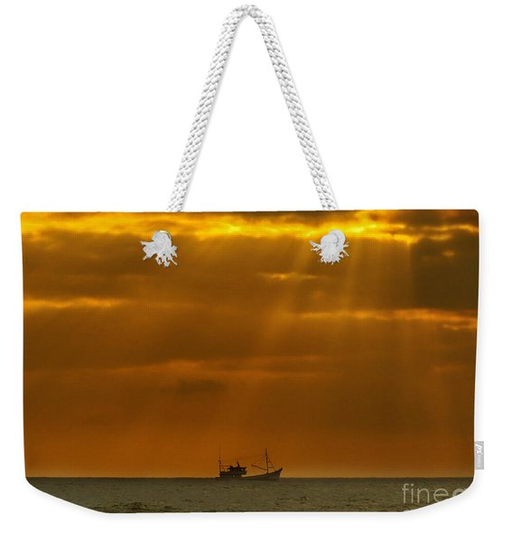 Ship Rest Weekender Tote Bag
