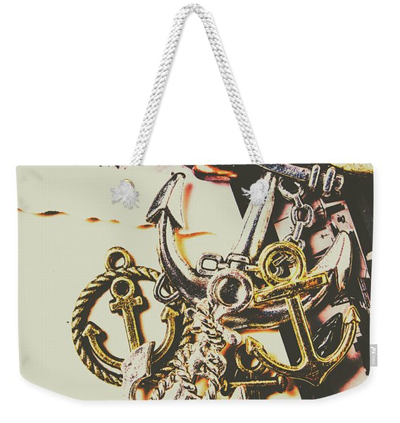 Ship Shape Maritime Icons Weekender Tote Bag