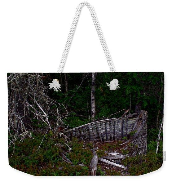 Ship Wrecked Weekender Tote Bag