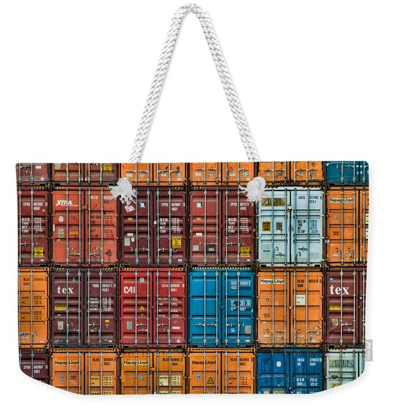 Shipping Containers Weekender Tote Bag