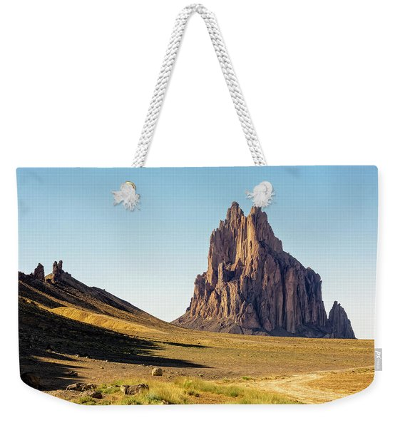 Shiprock 3 - North West New Mexico Weekender Tote Bag