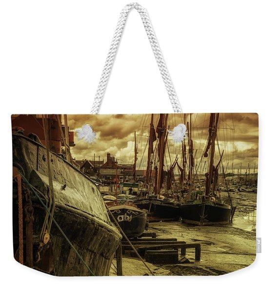 Ships From Essex Maldon Estuary Weekender Tote Bag