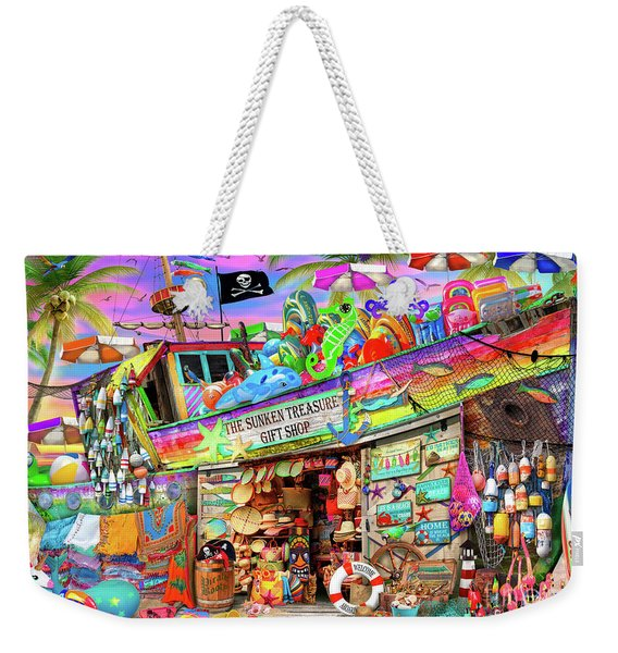 Shipwreck Gift Shop Weekender Tote Bag