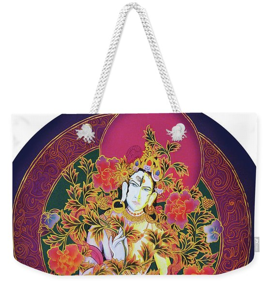 Shiva Shakti Yin And Yang Weekender Tote Bag