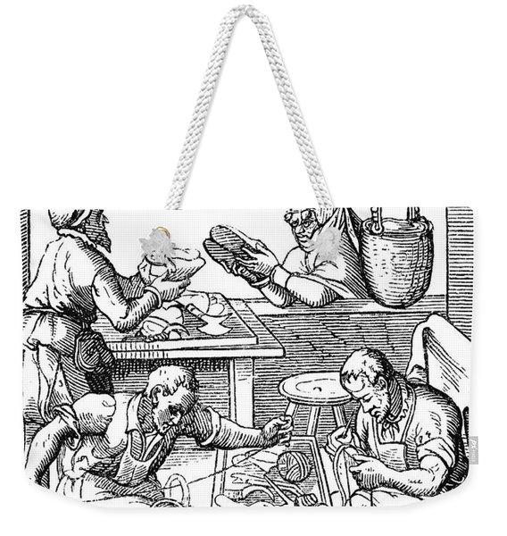 Shoemakers, 16th Century Weekender Tote Bag