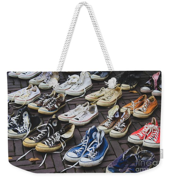 Shoes At A Flea Market Weekender Tote Bag