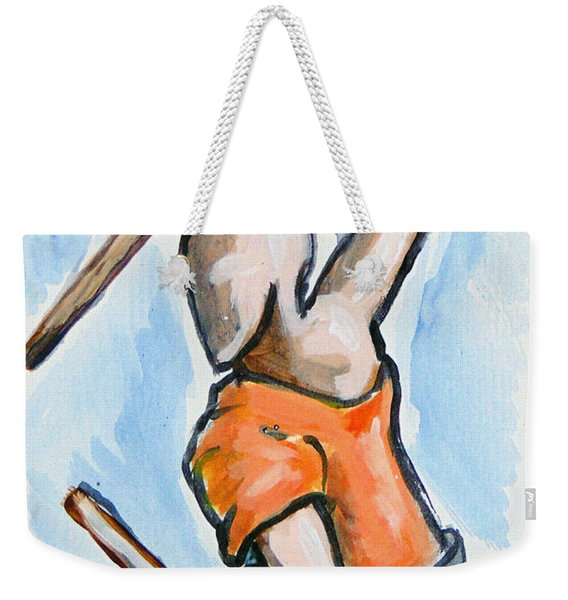Sholin Monk Weekender Tote Bag