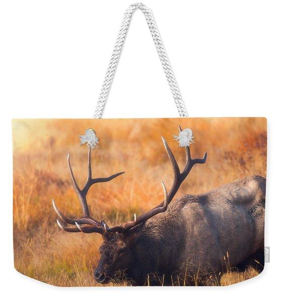 Shooting The Bull Weekender Tote Bag
