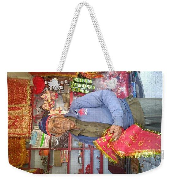 Shopkeeper Weekender Tote Bag