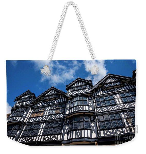 Shopping In Tudor Splendour Weekender Tote Bag