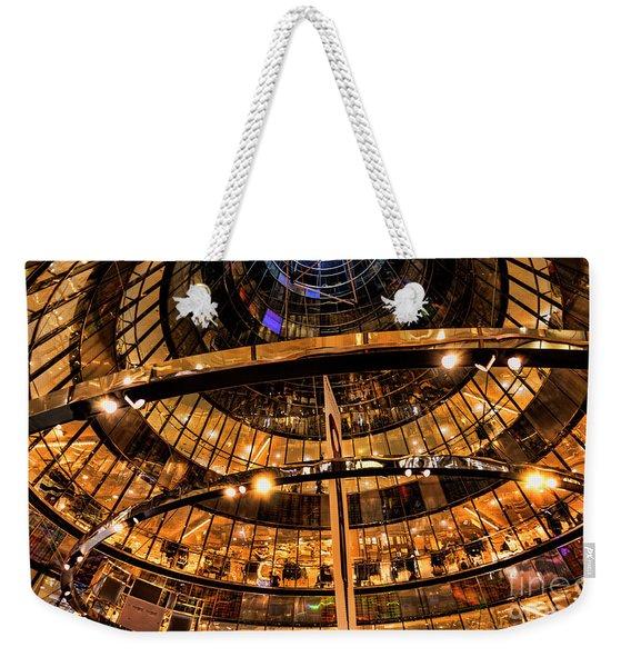 Shopping Is An Art Weekender Tote Bag