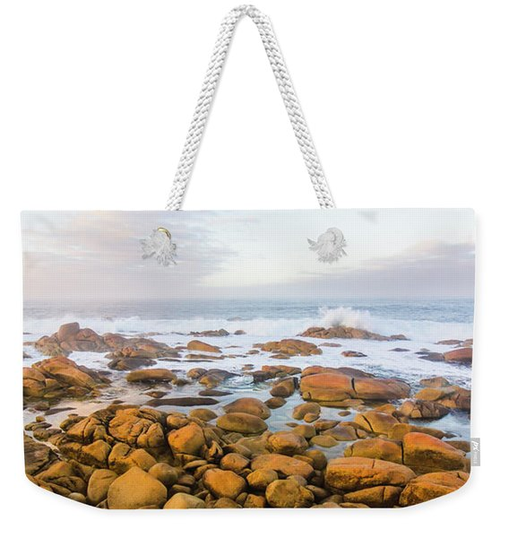 Shore Calm Morning Weekender Tote Bag