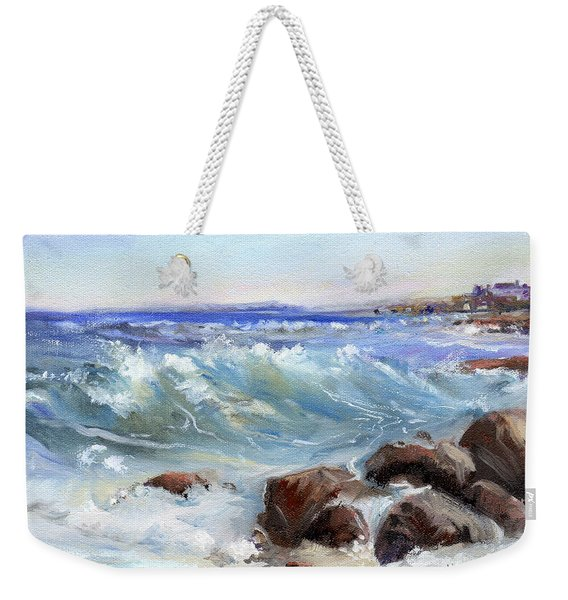 Shore Is Breathtaking Weekender Tote Bag