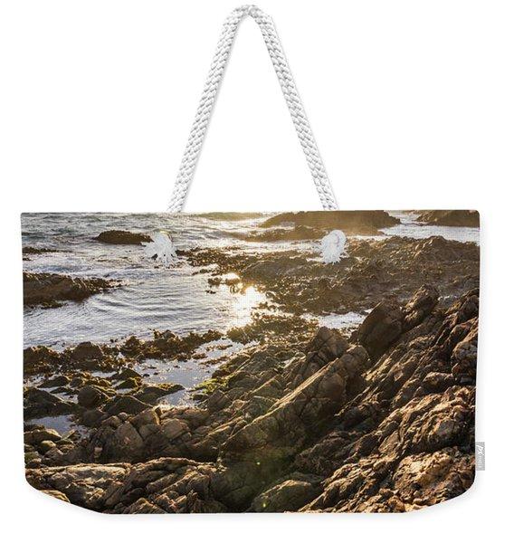 Shore Rays Weekender Tote Bag