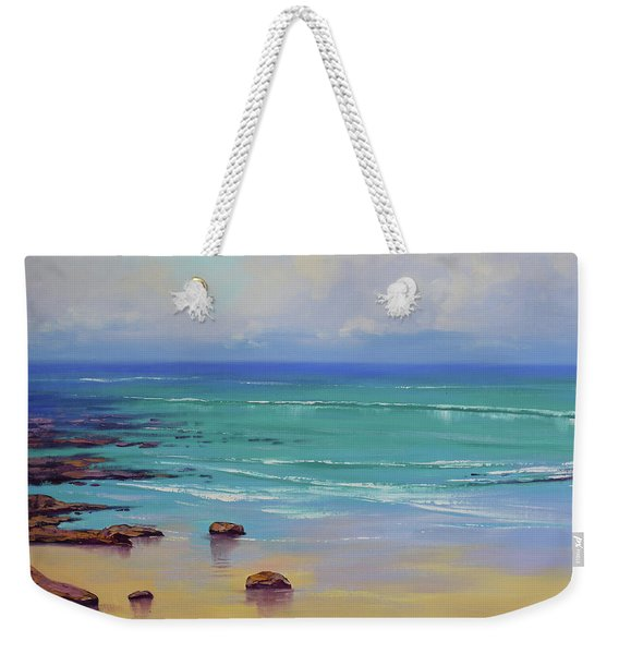 Shoreline Colors Weekender Tote Bag