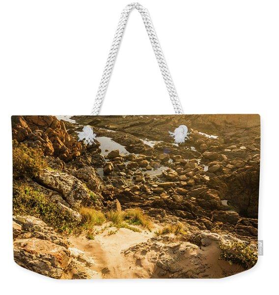 Shoreline Sunshine Weekender Tote Bag