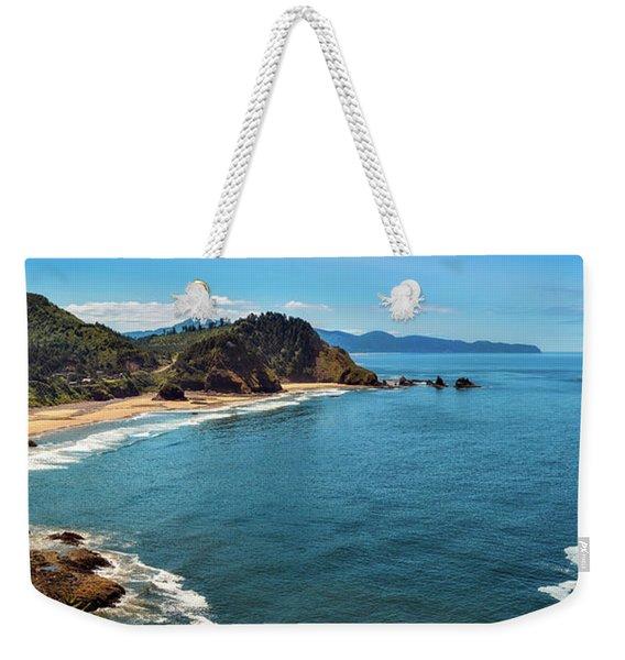 Short Beach, Oregon Weekender Tote Bag