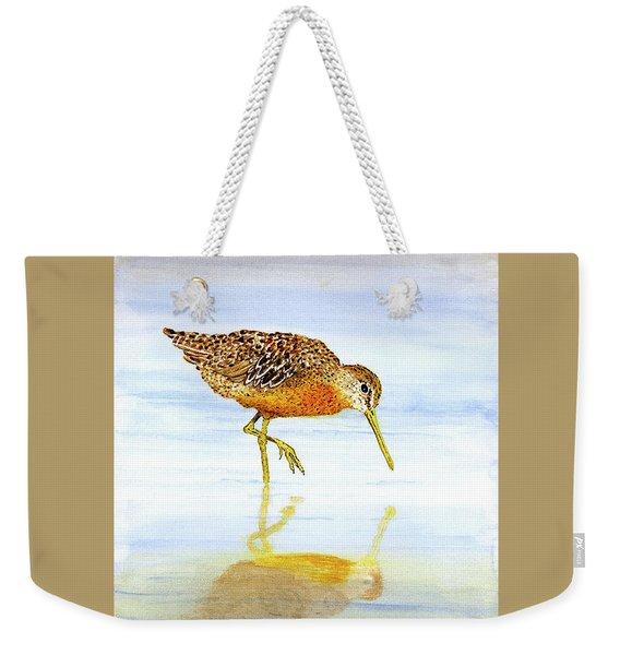 Short-billed Dowitcher Weekender Tote Bag