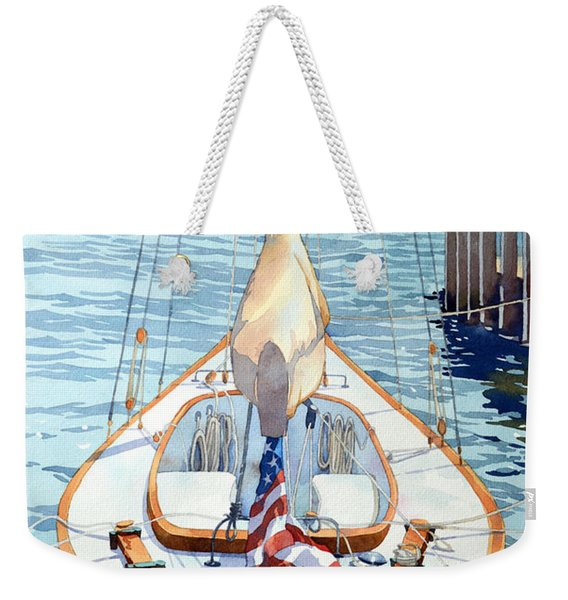 Short Ride To The Bay Weekender Tote Bag