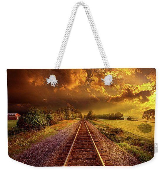 Short Stories To Tell Weekender Tote Bag