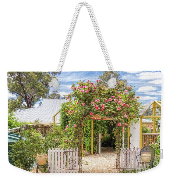 Shortest Way To Heaven #2 Weekender Tote Bag