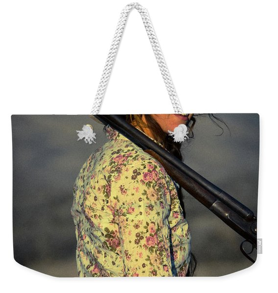 Shotgun Annie Western Art By Kaylyn Franks Weekender Tote Bag