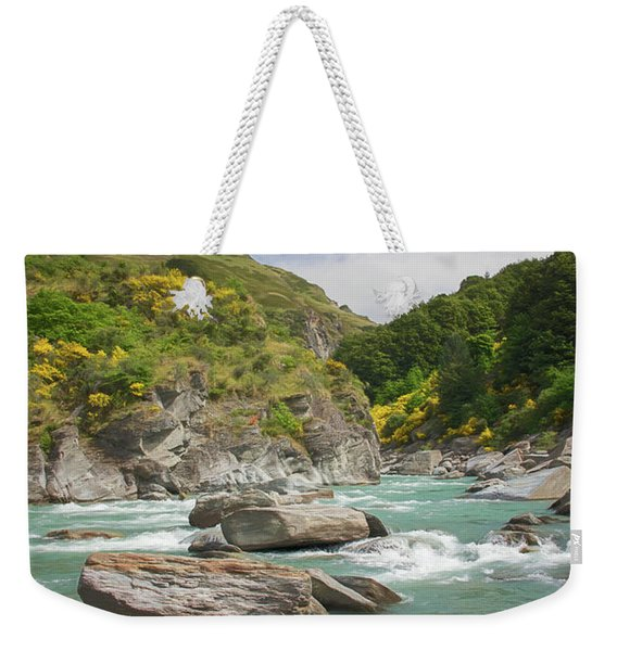 Shotover River Rapids New Zealand II Weekender Tote Bag