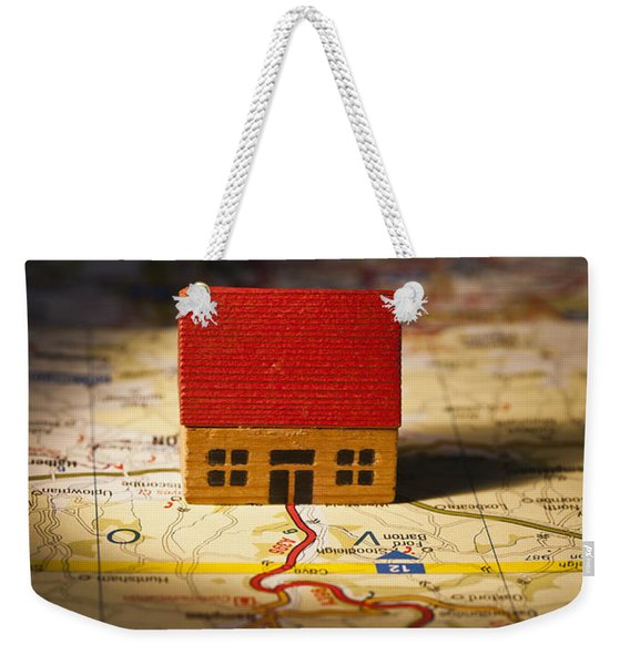 Show Me The Way To Go Home Weekender Tote Bag