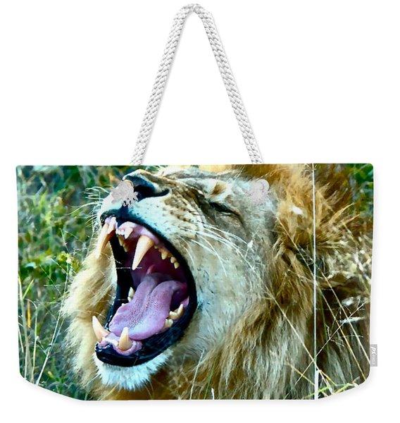 Show Me Your Teeth Weekender Tote Bag