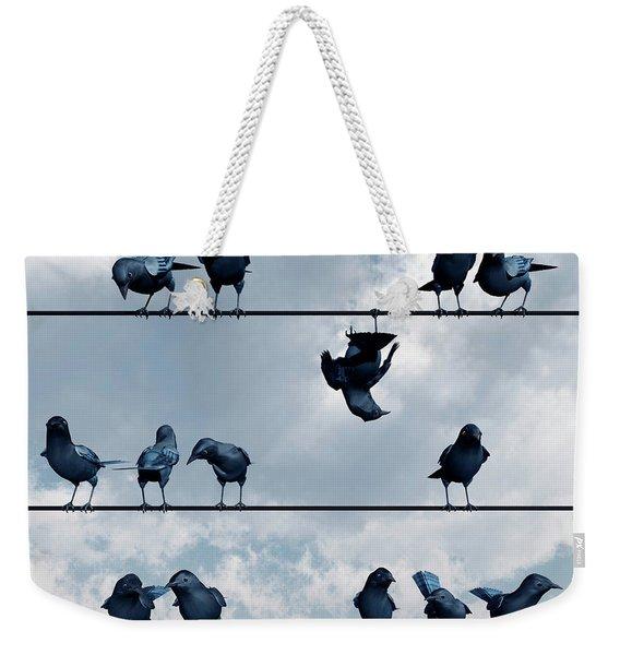 Show Off Weekender Tote Bag