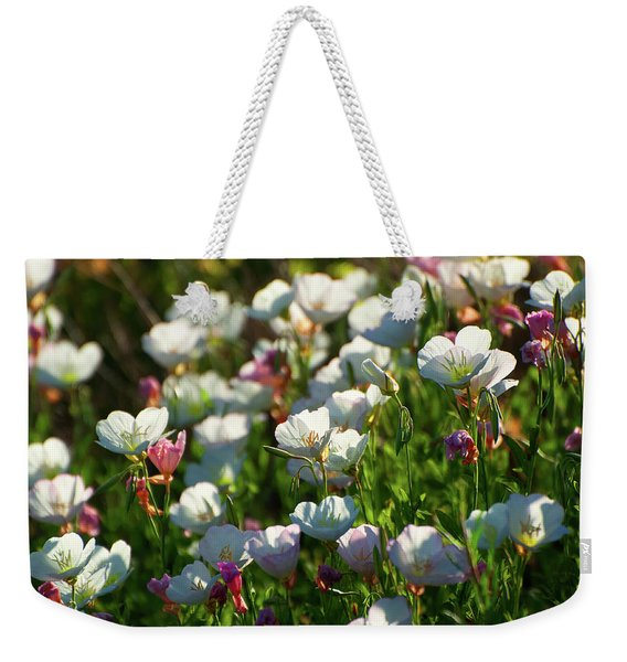 Showy Evening Primrose Weekender Tote Bag