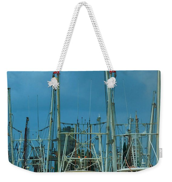 Shrimpers Weekender Tote Bag