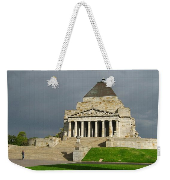 Shrine Of Remembrance Weekender Tote Bag