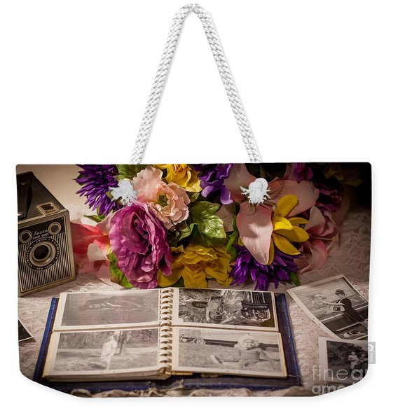 Shur Shot From The Past In Color Weekender Tote Bag