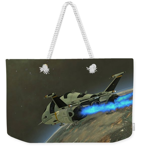 Shuttlestar Transport Weekender Tote Bag