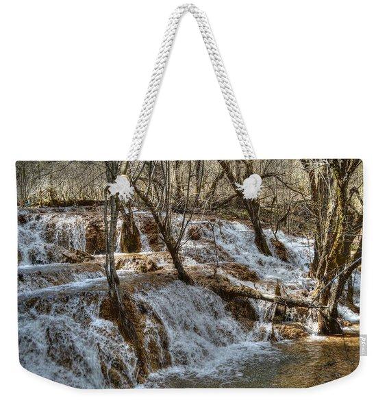 Shuzheng Waterfall China Weekender Tote Bag