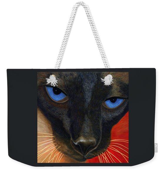 Siamese Weekender Tote Bag