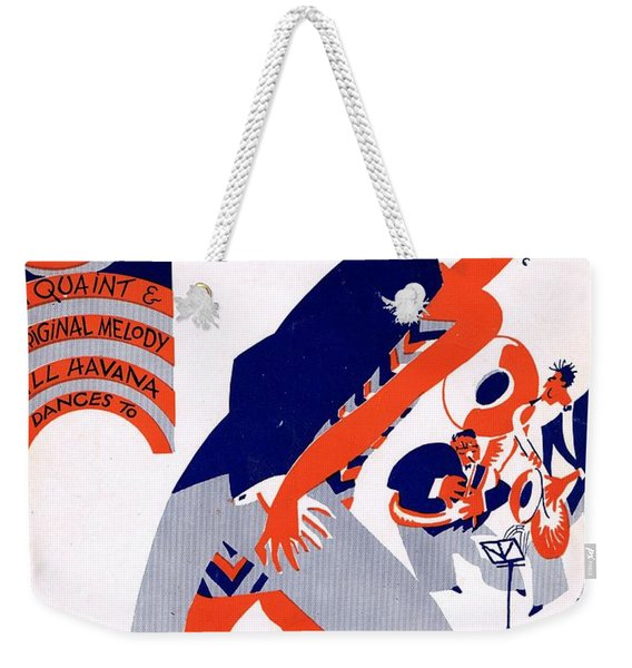 Siboney Weekender Tote Bag