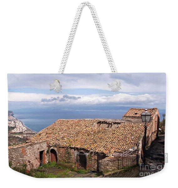 Sicilian Forgotten Sound Weekender Tote Bag
