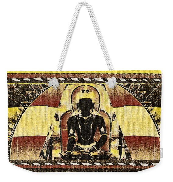 Siddhartha Gautam Weekender Tote Bag