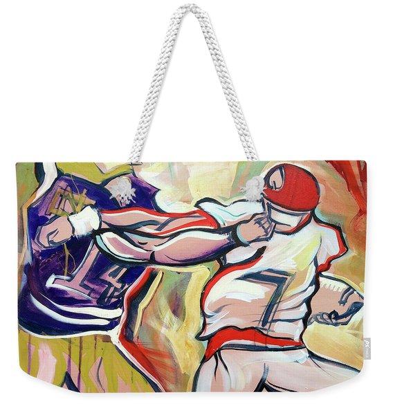 Side Arm Uga Weekender Tote Bag