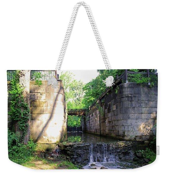 Side Cut Locks IIi Weekender Tote Bag