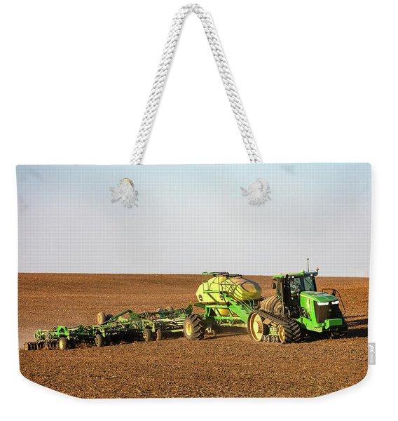 Side Hill Seeding Weekender Tote Bag