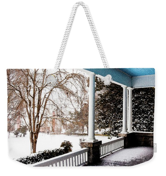 Side Porch Weekender Tote Bag