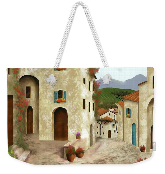 side streets of Tuscany Weekender Tote Bag