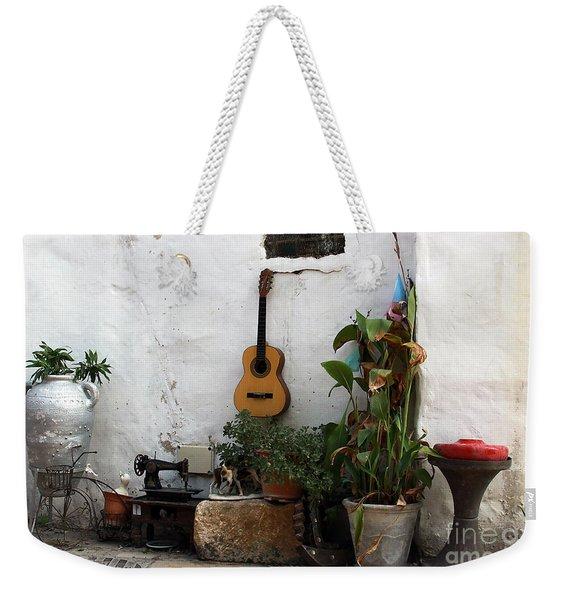 Sidewalk Collage #2 Weekender Tote Bag