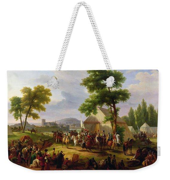 Siege Of Paris By Henri Iv Weekender Tote Bag