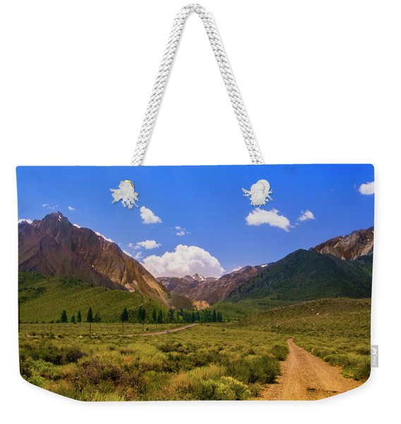 Sierra Mountains - Mammoth Lakes, California Weekender Tote Bag