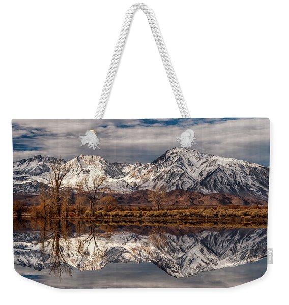 Sierra Reflections 2 Weekender Tote Bag