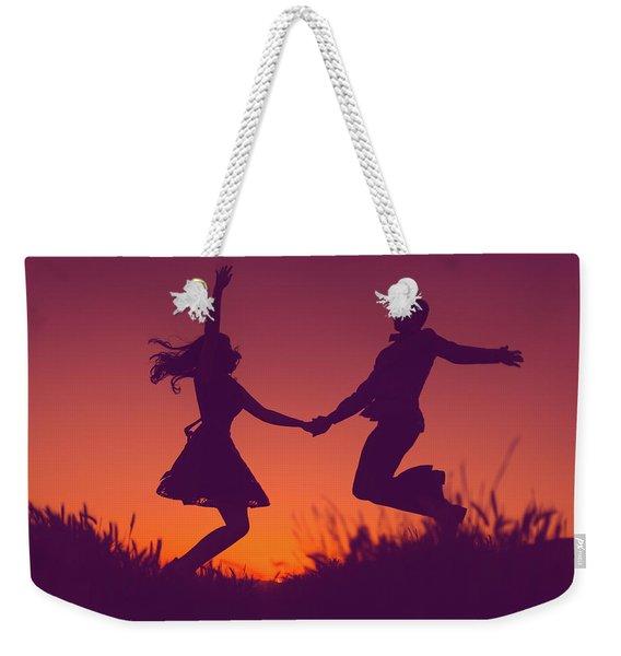 Sierra Sunset Weekender Tote Bag